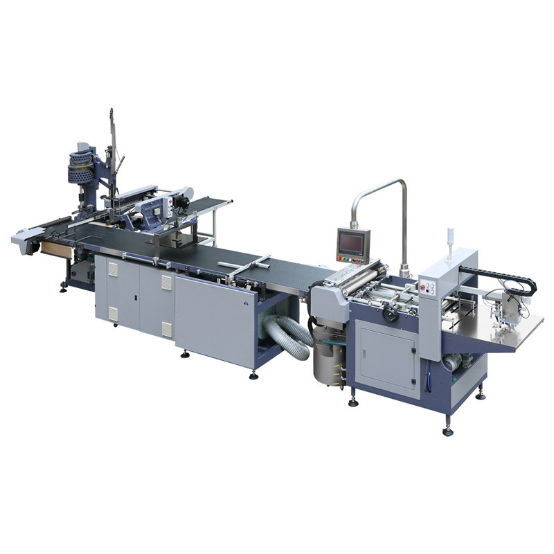 Semi-Auto Rigid Box Making Machine