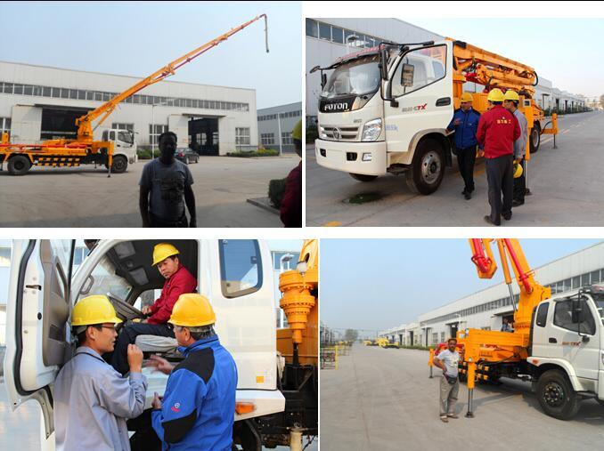 Construction Machinery Truck Mounted Concrete Pump Machine Parts