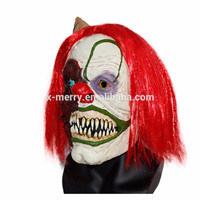 x merry toy mens scary clown mask evil halloween costume mask one