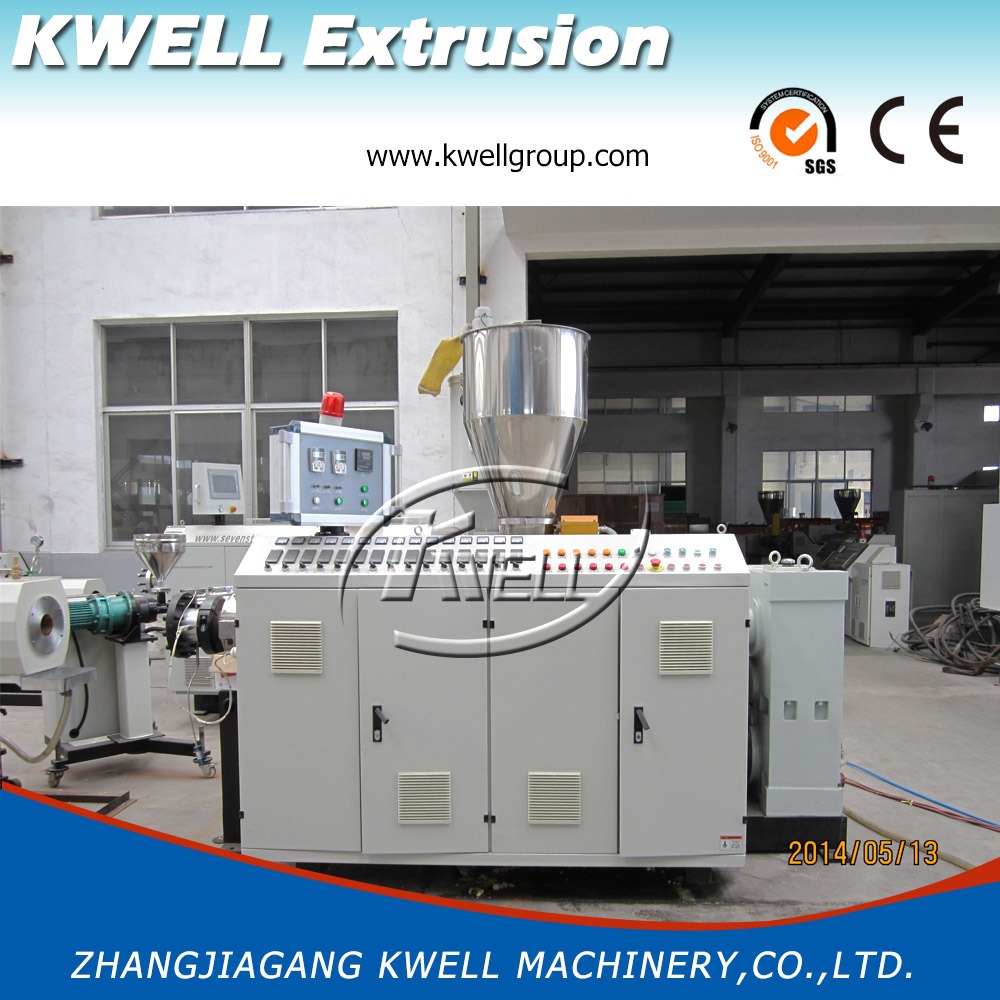 China Best Seller Extruder For Water Pipe Pvc Upvc Electrical Machinery Wiring Plastic Machine