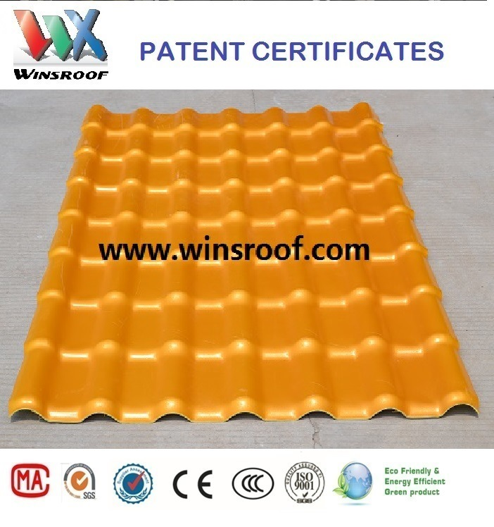 Wins Spanish Roof Tile PMMA Surface