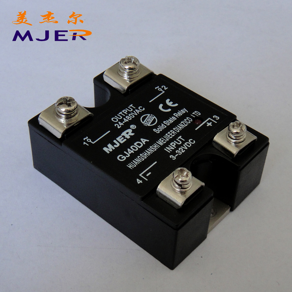 China Single Phase Solid State Relay Ssr Dc Ac Gj 40da For