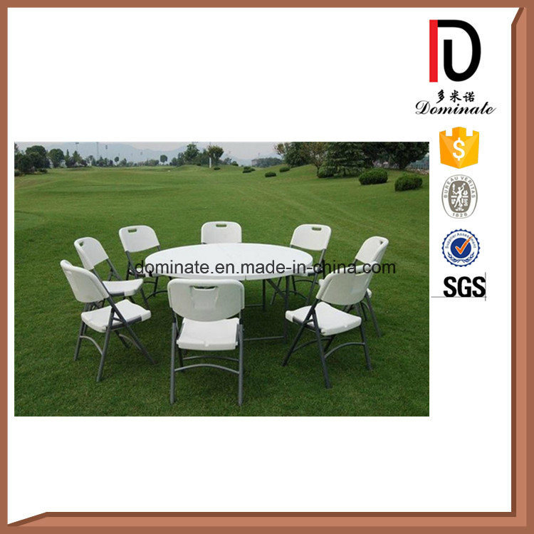 Cheap Light HDPE Plastic Folding Rectangle Round Table