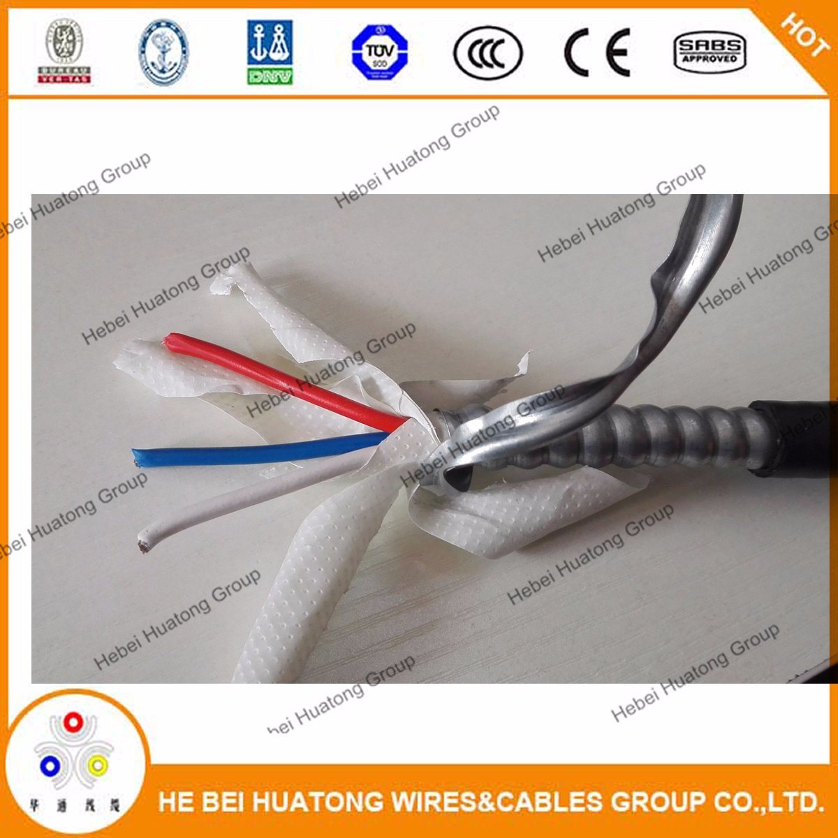China Ul Certificate 10 20 40 500mcm Mc Cable Aluminum Alloy Or