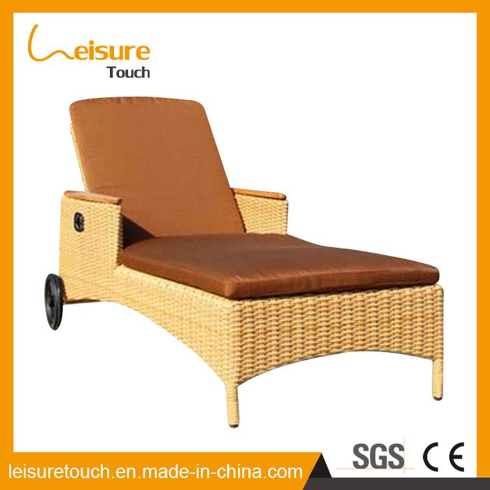 China Patio Wicker Garden Outdoor Furniture Rattan Lounger Reclining Chair