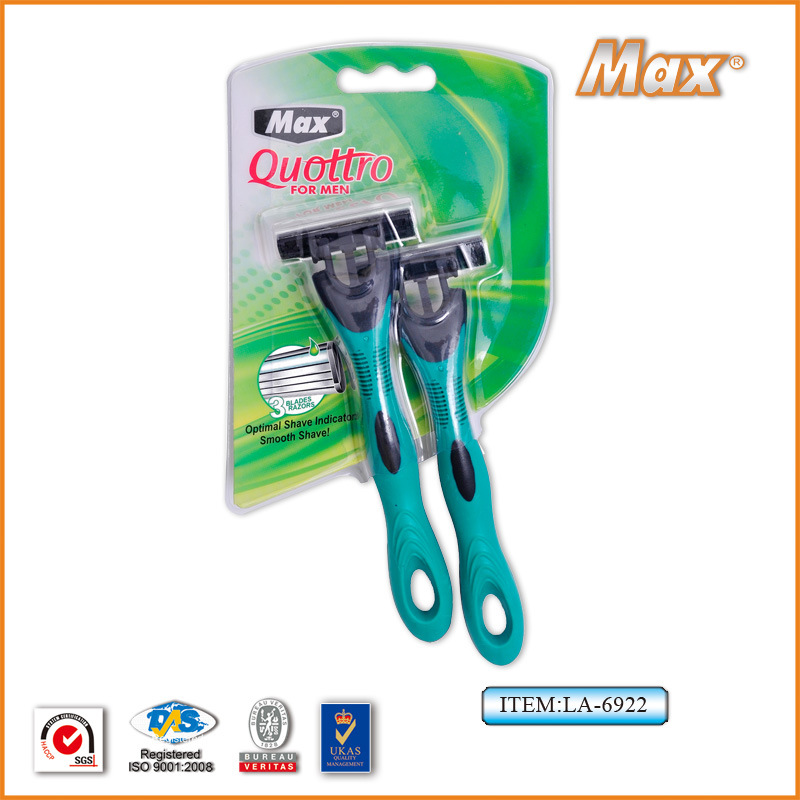 High Quality Triple Blade Disposable Shaving Razor with Best Price pictures & photos