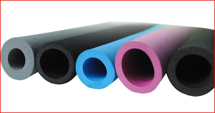 China Epdm Nbr Eva Pvc Silicone Foam Tube Hollow Foam