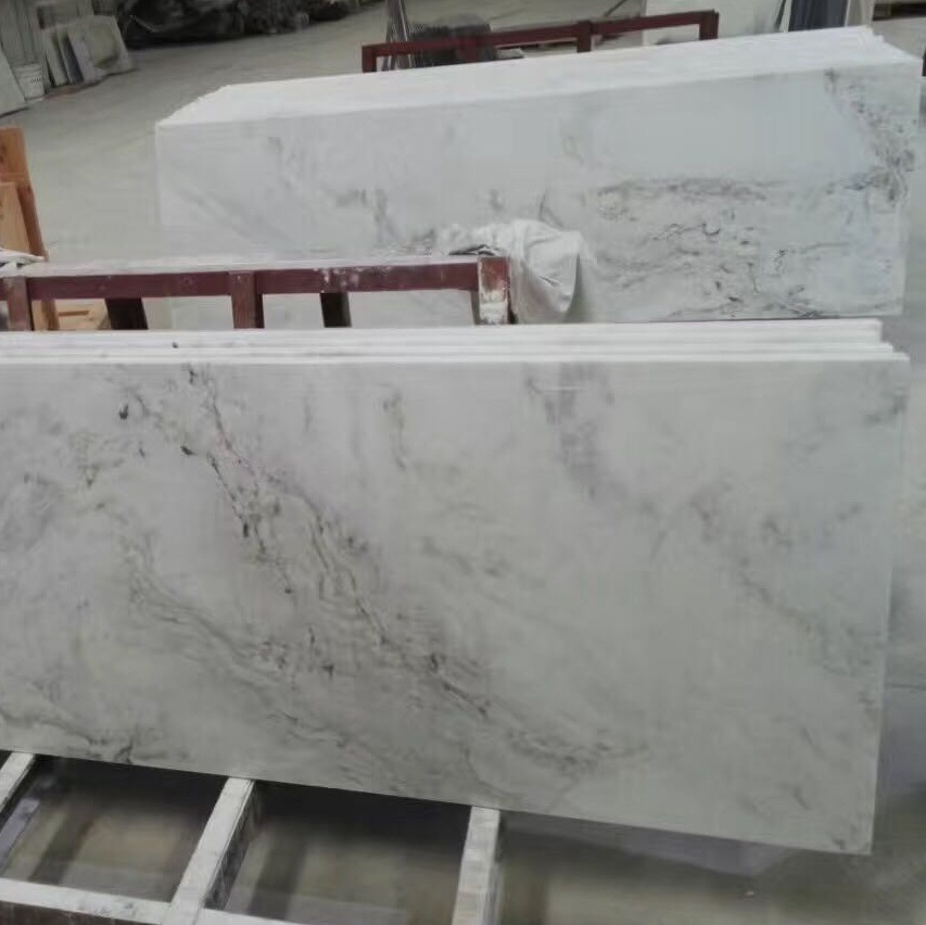 China Polished White Marble Countertops