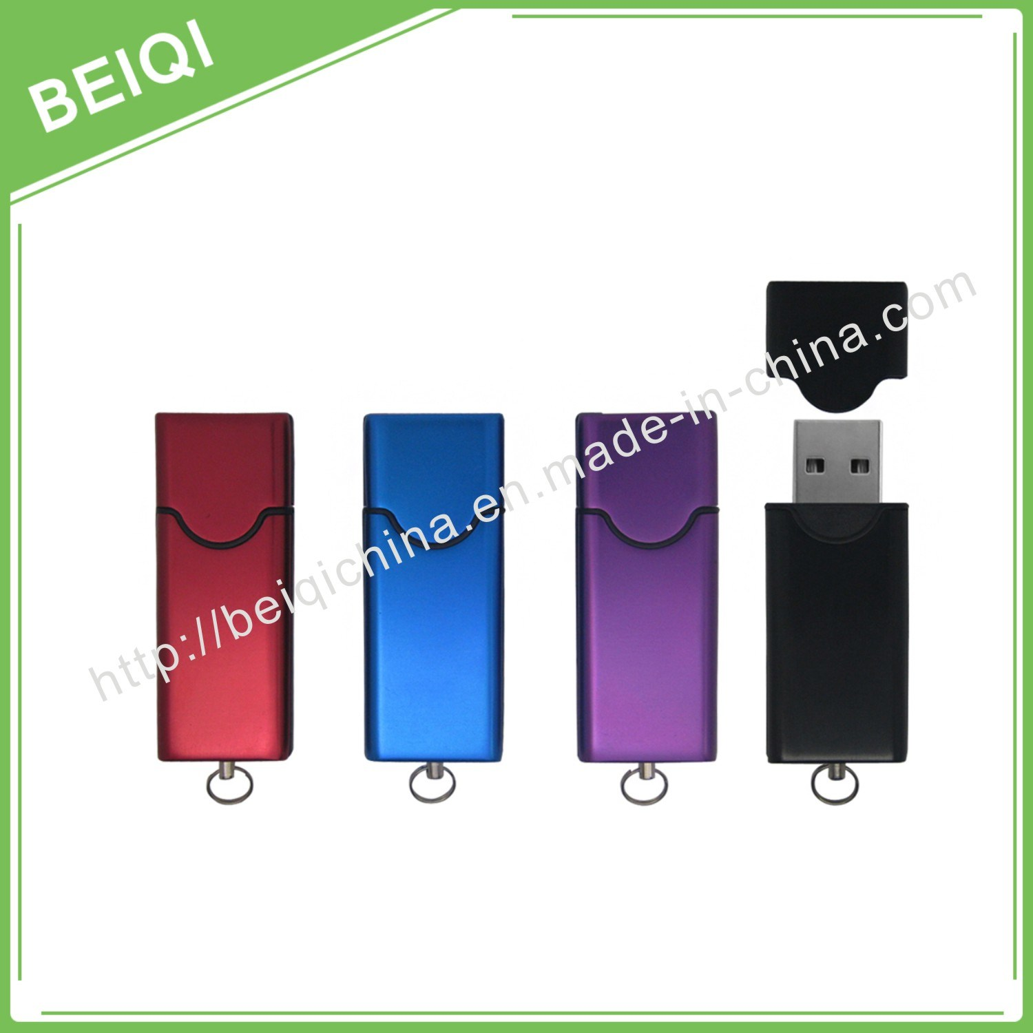 High Speed Custom USB Flash Drive with Silicone Wristband