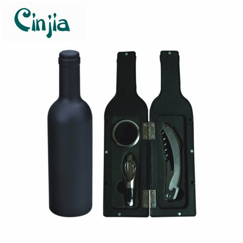 3PCS Big Bottle Red Wine Opener Tools Set for Gift