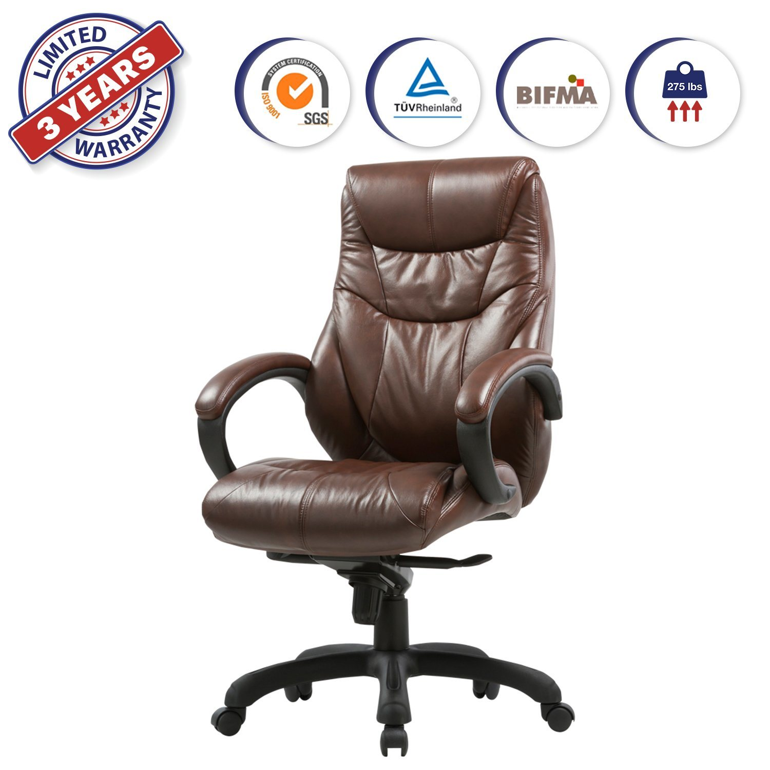 Black Padded Folding Office Computer Desk Chairs by Top Home Solutions