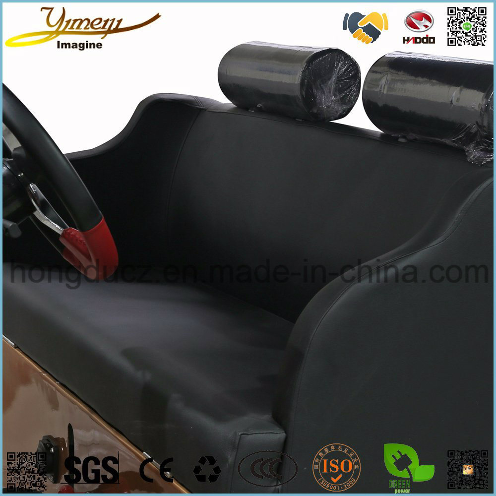 8 Seats Electrical Vintage Car E Sightseeing Car Safe Vehicle Fashion Tour Bus pictures & photos