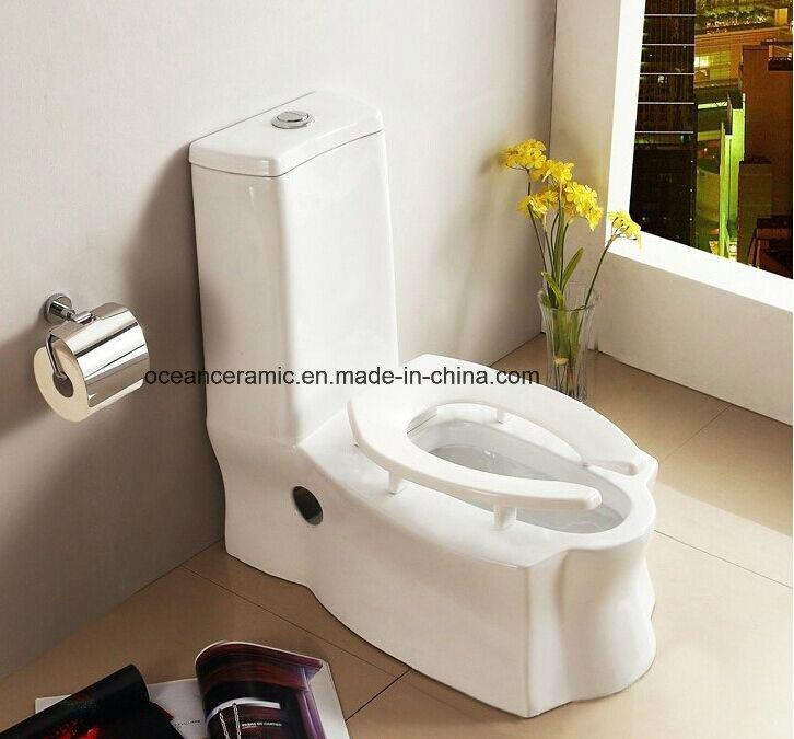 Fantastic Hot Item 060 Ceramic Siphonic Water Closet S Trap One Piece Squatting Toilet Machost Co Dining Chair Design Ideas Machostcouk