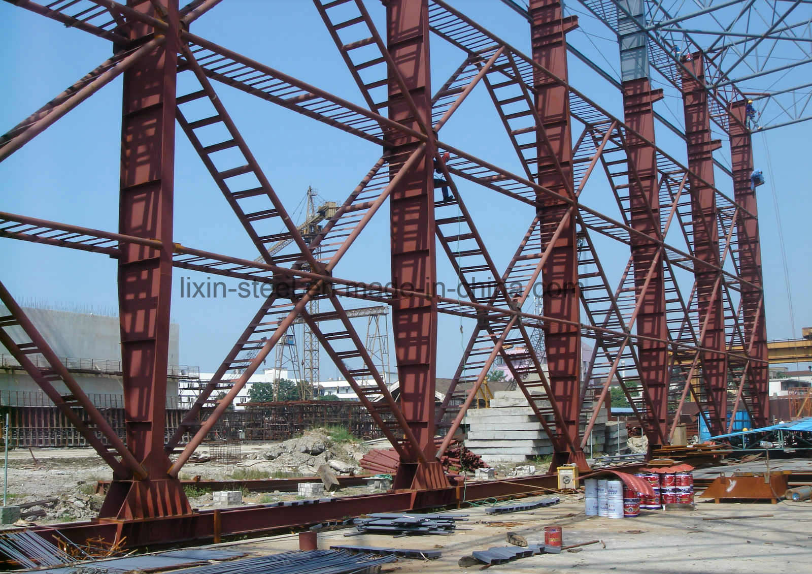 Movable Steel Structure Workshop Construction pictures & photos