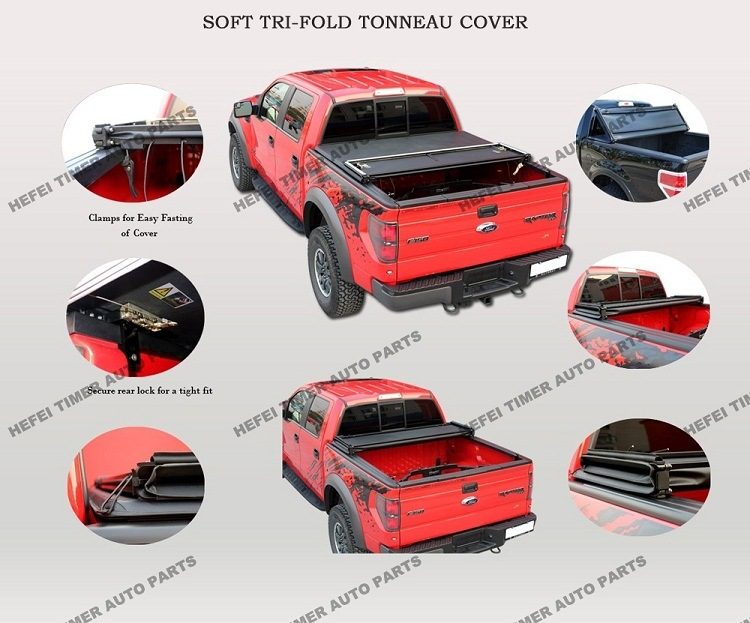 3years Warranty 2016 Trending Products Tonneau Cover for Dodge Dakota