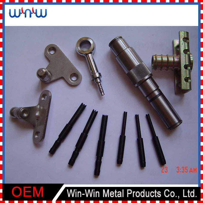 Custom Stamping Parts CNC Turned Metal Machined Part (WW-MP016)