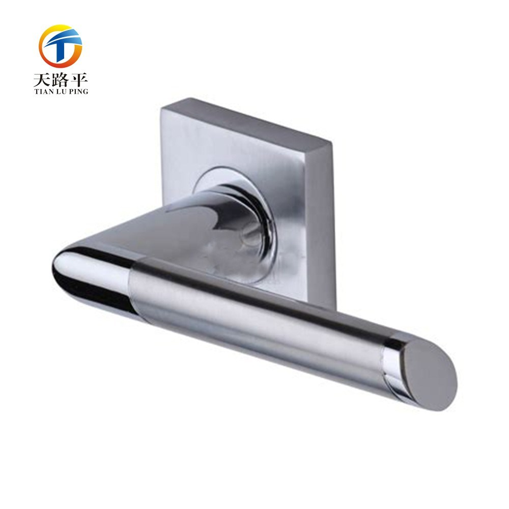 Custom Investment Casting Stainless Steel / Aluminum Door Lever Handles pictures & photos