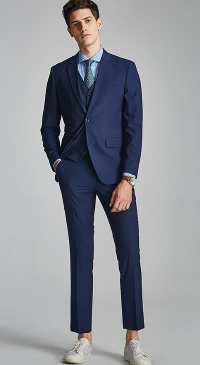china autumn thin section suits men business suits men groom wedding dress blue suit of cultivate one s morality china bespoke suit and tailoring suit price china autumn thin section suits men