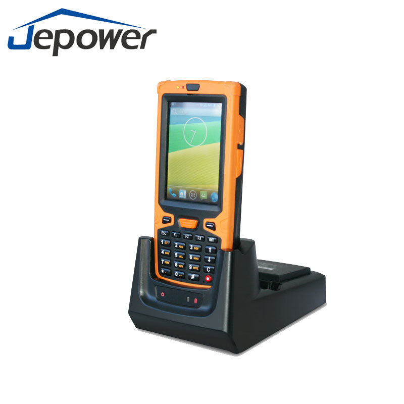 1d 2D Barcode Recognition Rugged Android Handheld GPRS Terminal pictures & photos