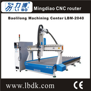 [Hot Item] Lb Baolilong Machining Center Lbm-2040 CNC Wood/Foam Router