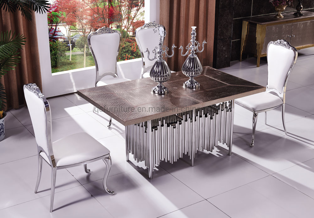 China Modern Dining Furniture 8 Seat Dining Table And Chair For Home And Restaurant China Dining Table And Chair 8 Seat Dining Table