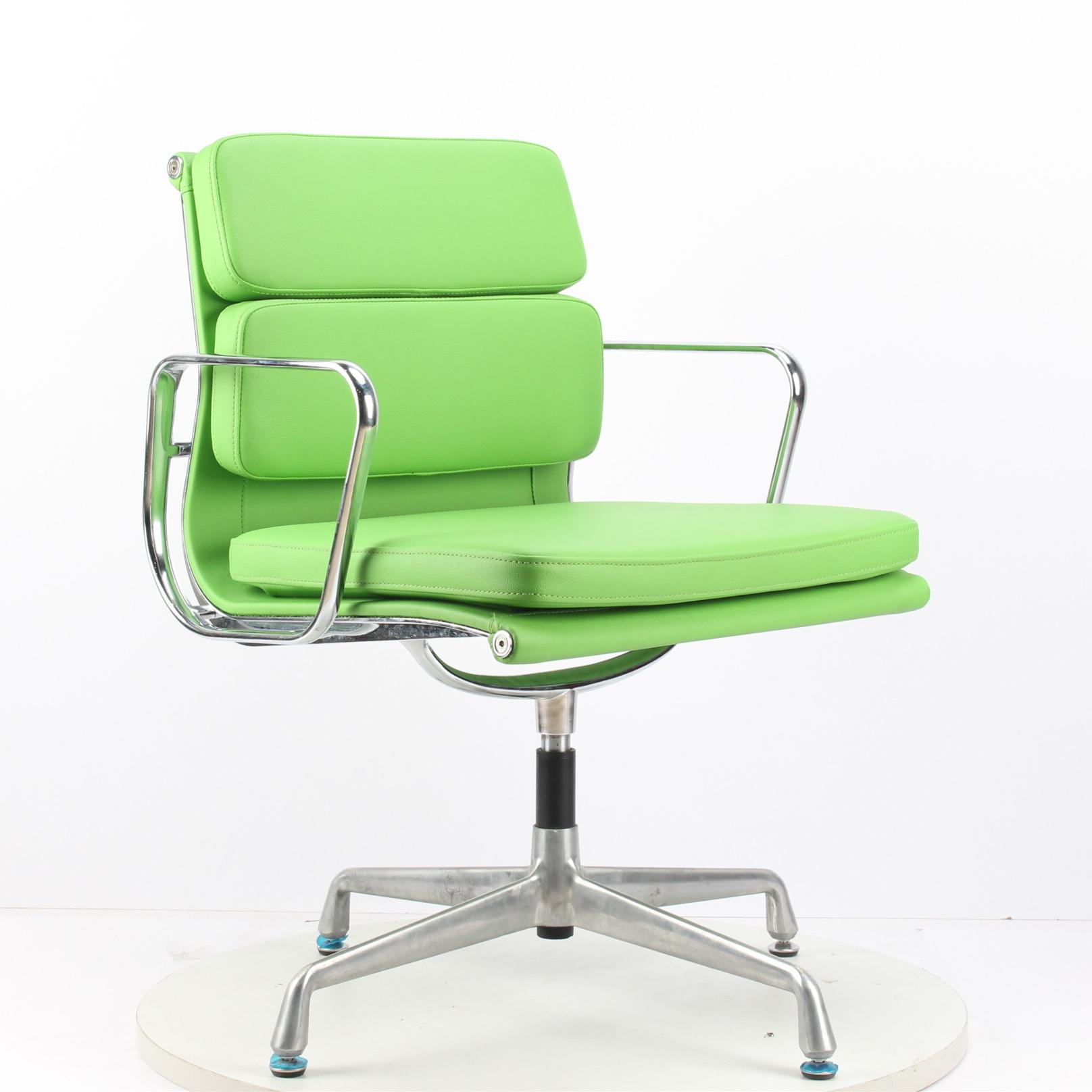 Swivel Chair Leather Modern Minimalist