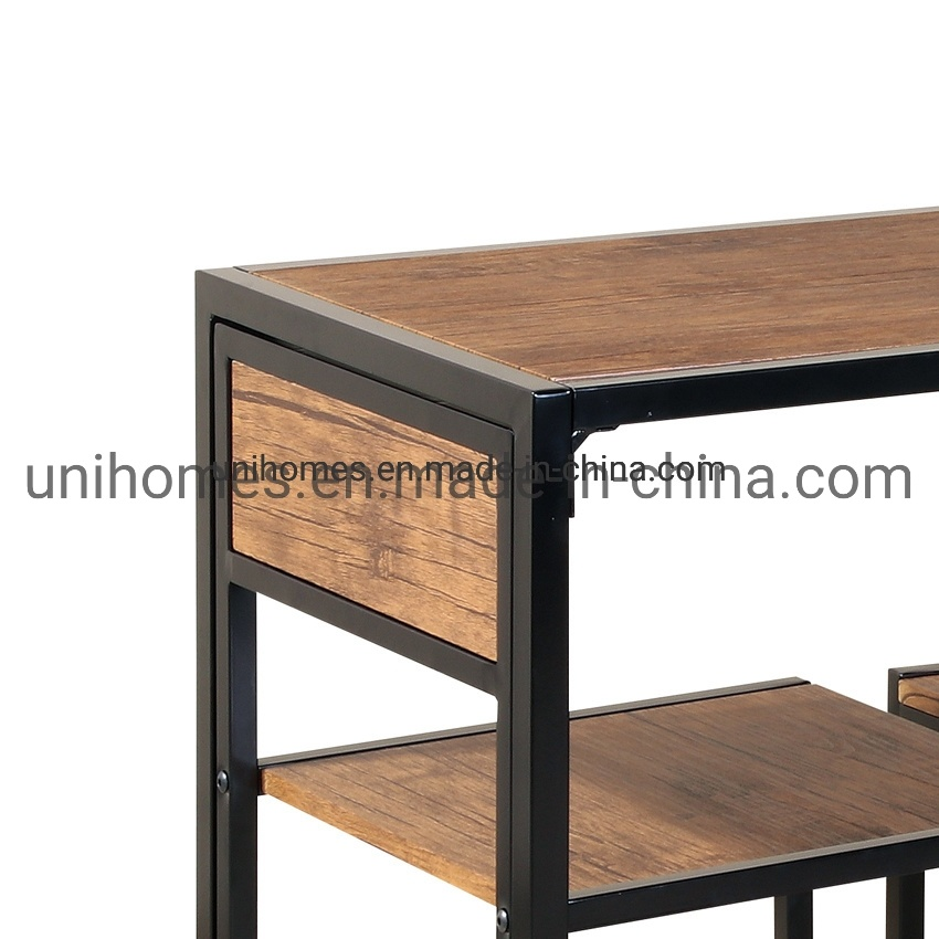 China Manufacturer 3 Piece Dinner Table Small Dining Table Set For Kitchen Restaurant Walnut Living Room Furniture Photos Pictures Made In China Com