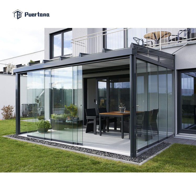 China Outdoor Prefabricated, Outdoor Glass Patio Rooms