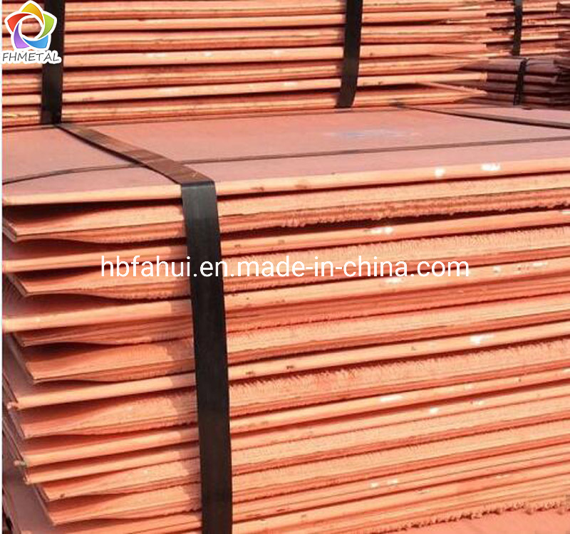 [Hot Item] Cu 99 99% Electrolytic Copper Cathodes / 99 99% Grade AA Cathode  Copper