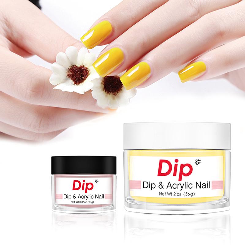 Hot Item Powder Liquid 1000 Colors Options Dip Powder Nails For Nail Art