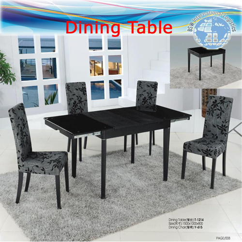 China Freight Agent for Dining Tables, Chairs, Wooden Furniture