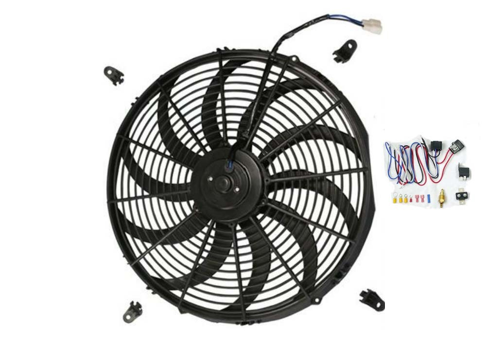 China 16 U0026quot  Electric Radiator Fan Fit For Universal Car High