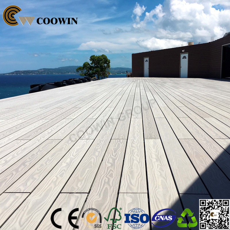 China Outdoor Terrace Balcony Hardwood Decking Plastic Wood Floor