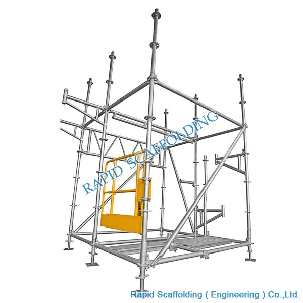 Working Platform Steel Tower Ringlock Scaffolding pictures & photos