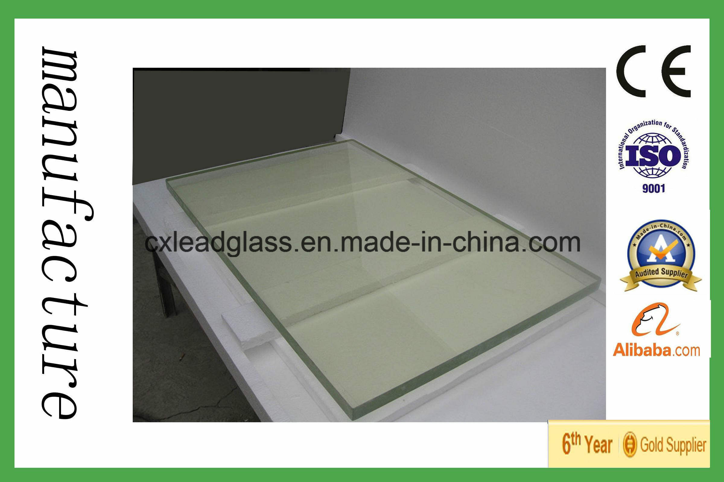 China Machine Lead X Ray Safety Glass Uses For Dental Clinics China Lead Glass Xray Glass