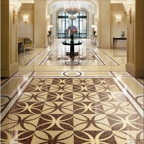 China 6060cm Ceramic Floor Tiling Honeycomb Tiles For Sale Photos
