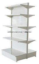 High Quality Square Supermarket Gondola Shelf with Two Side