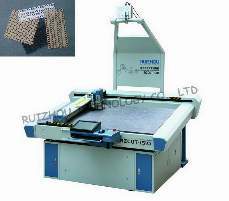 Dieless CNC Leather Cutting Machine with Oscillating Tool pictures & photos