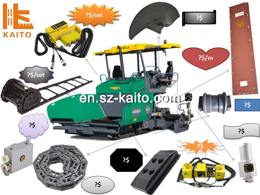 Grinding Plant Spare Parts Manufacturers Companies In Thailand Mail: China Vogele Abg Titan Asphalt Paver Spare Parts