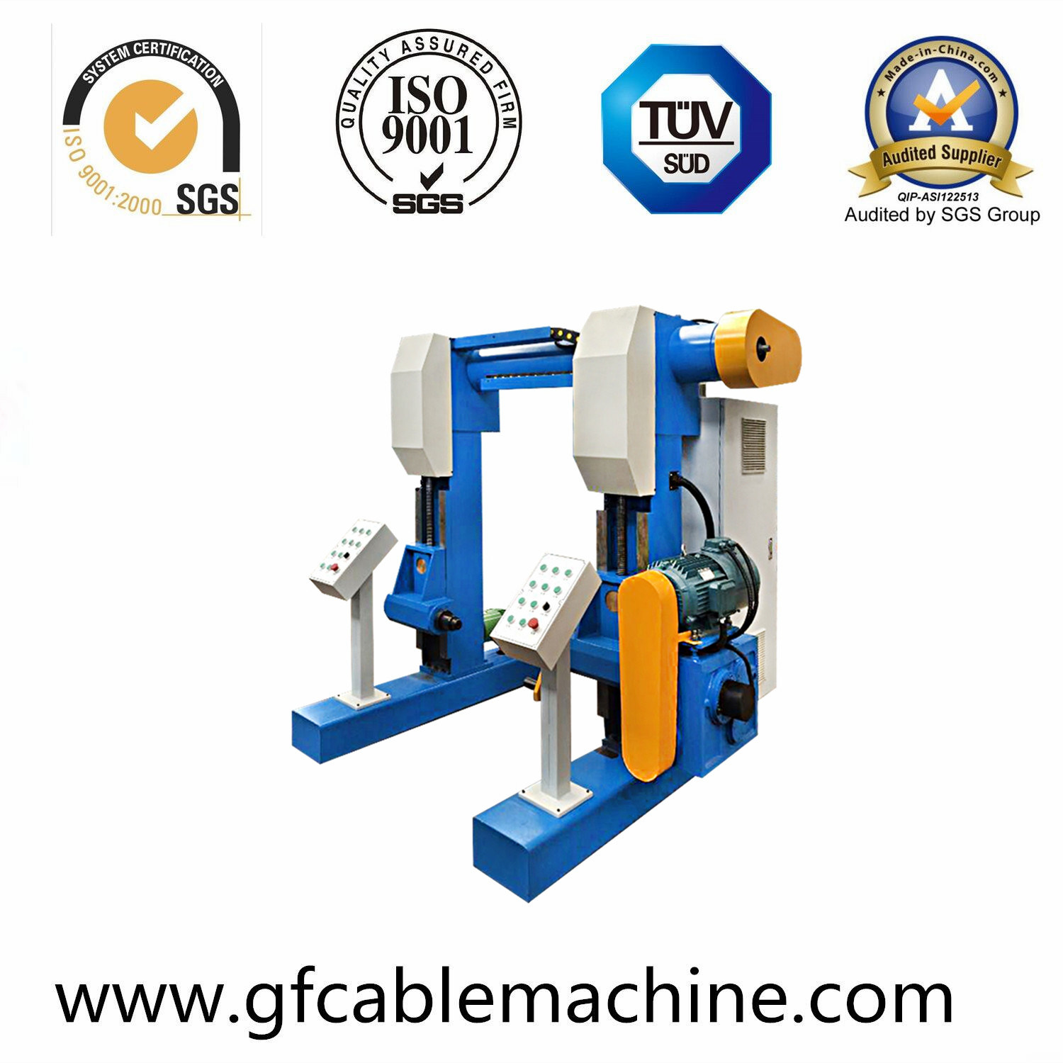 Plastic Power Wire Cable Extrusion Making Machine Production Line