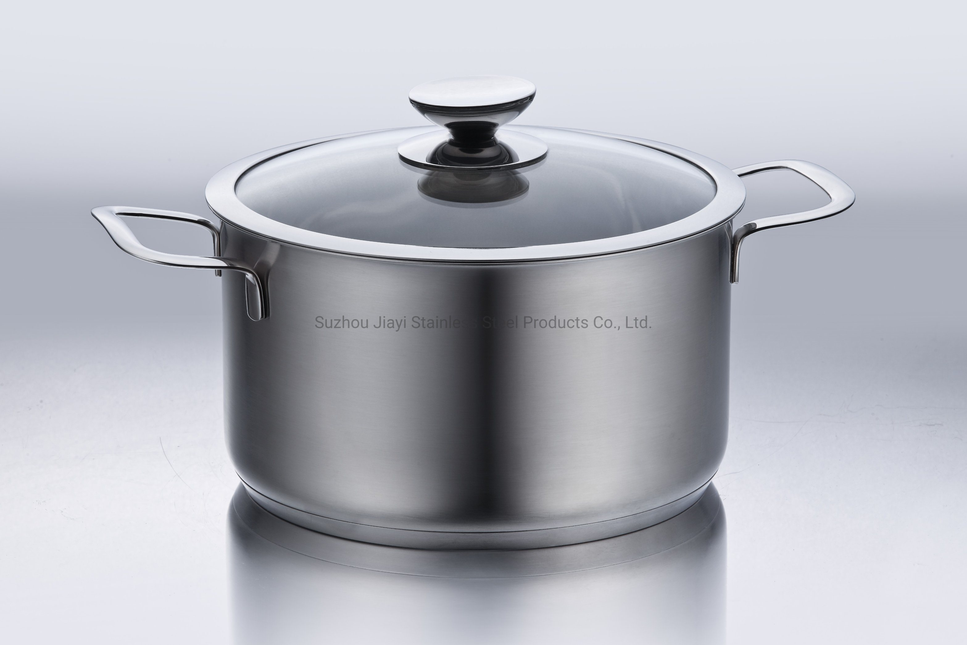 China Economic Stainless Steel Kitchen Food Cookware Pot Saucepan With Lid Stockpot Jy 2011t3 China Pot And Soup Pot Price