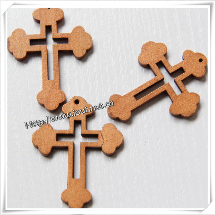 Wooden Crosses for Crafts (IO-cw020)