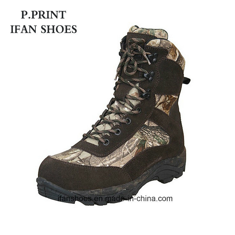 amazon official photos info for China Good Quality High-Cut Camouflage Hiking Shoes - China ...
