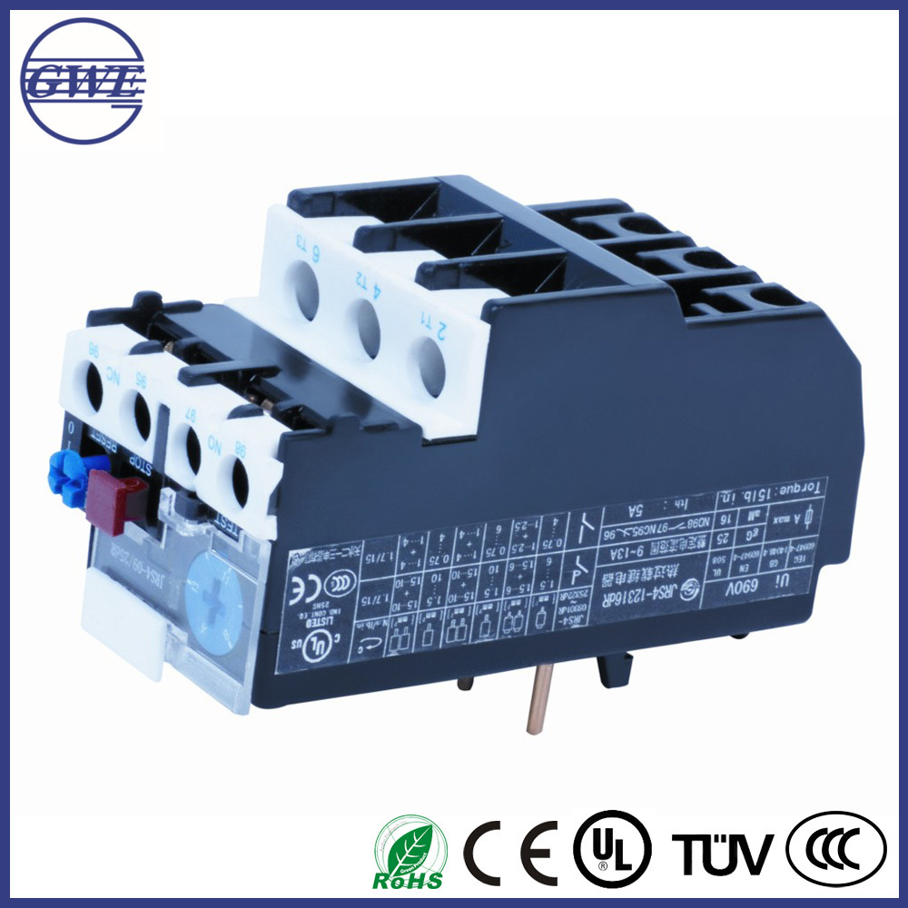 China Thermal Overload Relay GWE JRS4-dR Series - China Relay ...