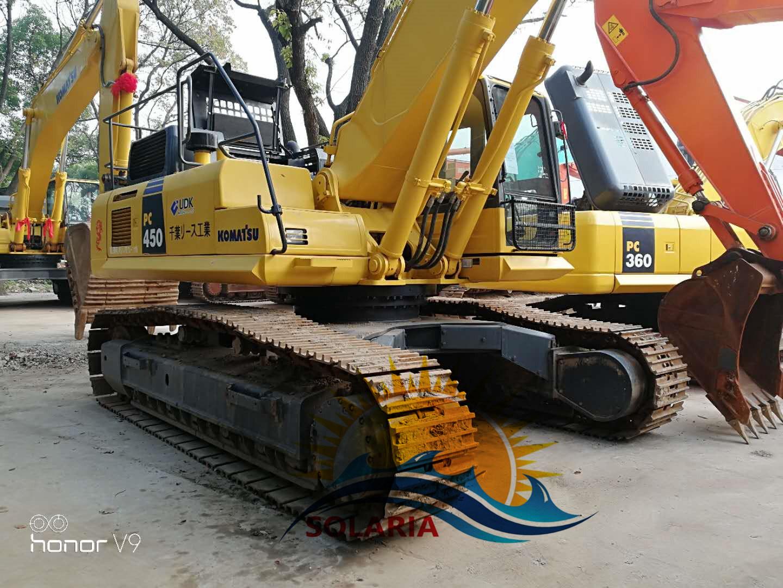 China Used/Secondhand Komatsu PC450-8 Crawler Excavator Komatsu Excavator  Construction Machinery Original Japan - China Excavator, Komatsu PC450-8