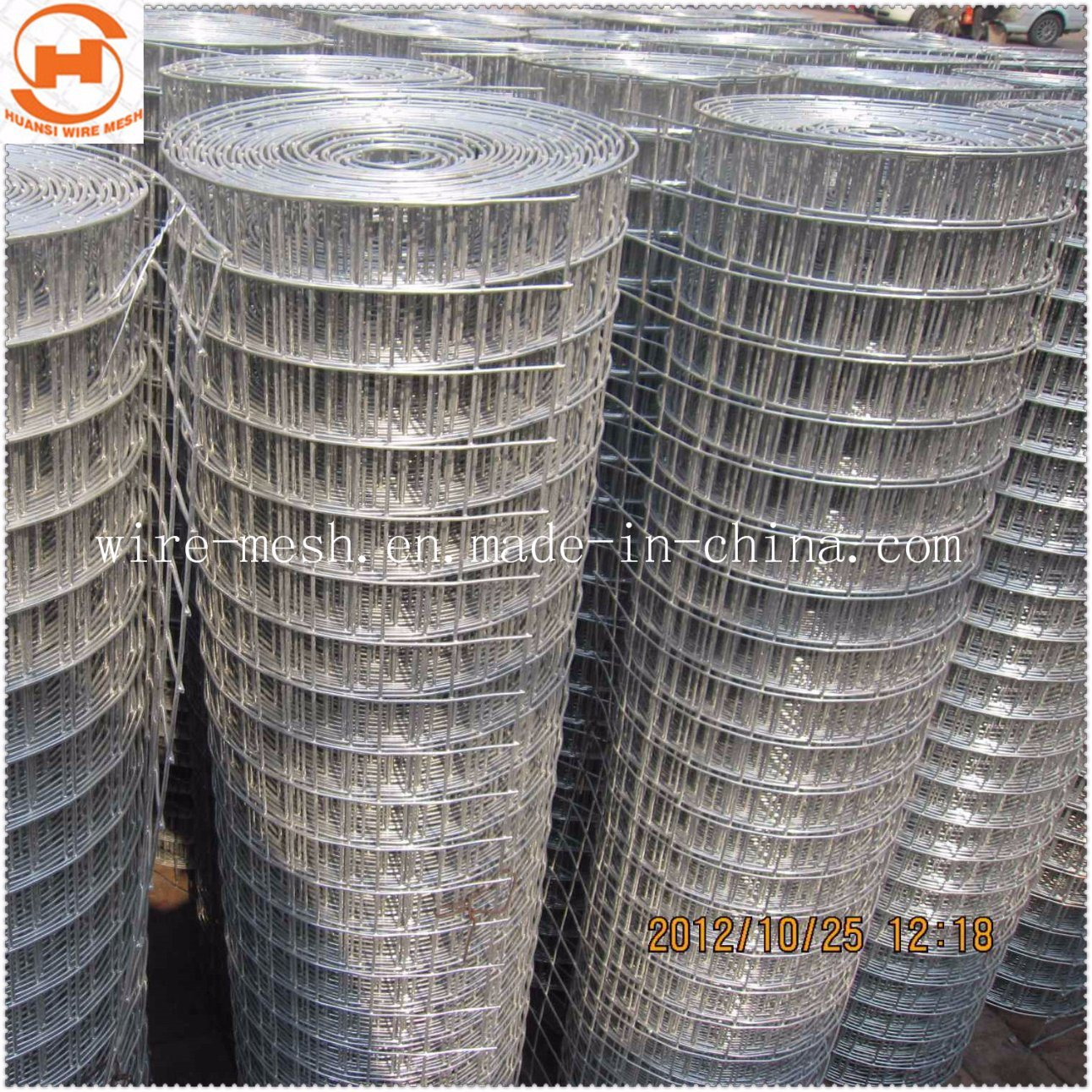 China Stainless Steel/Galvanized Welded Wire Mesh for Building Used ...