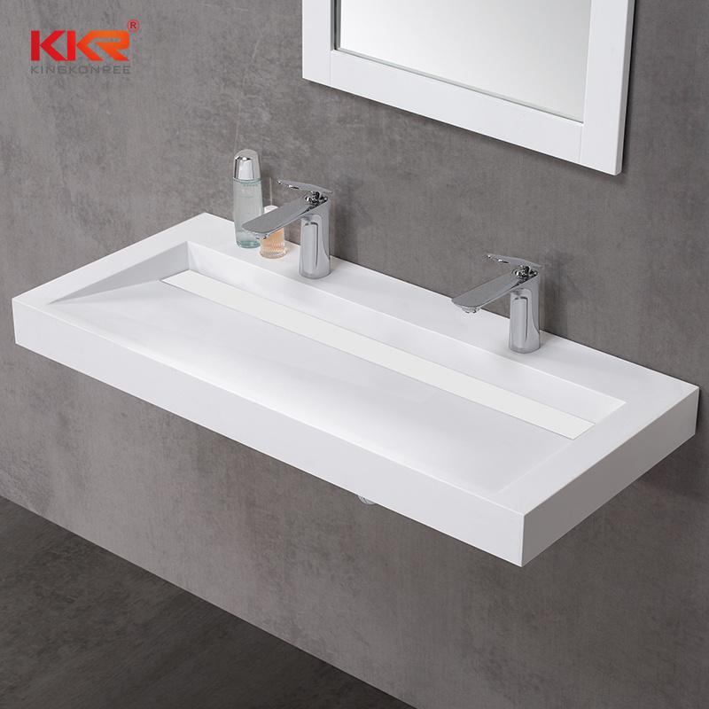 China Bathroom Furniture Man Made Stone