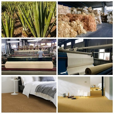 China Natural Fiber Sisal Carpet Roll