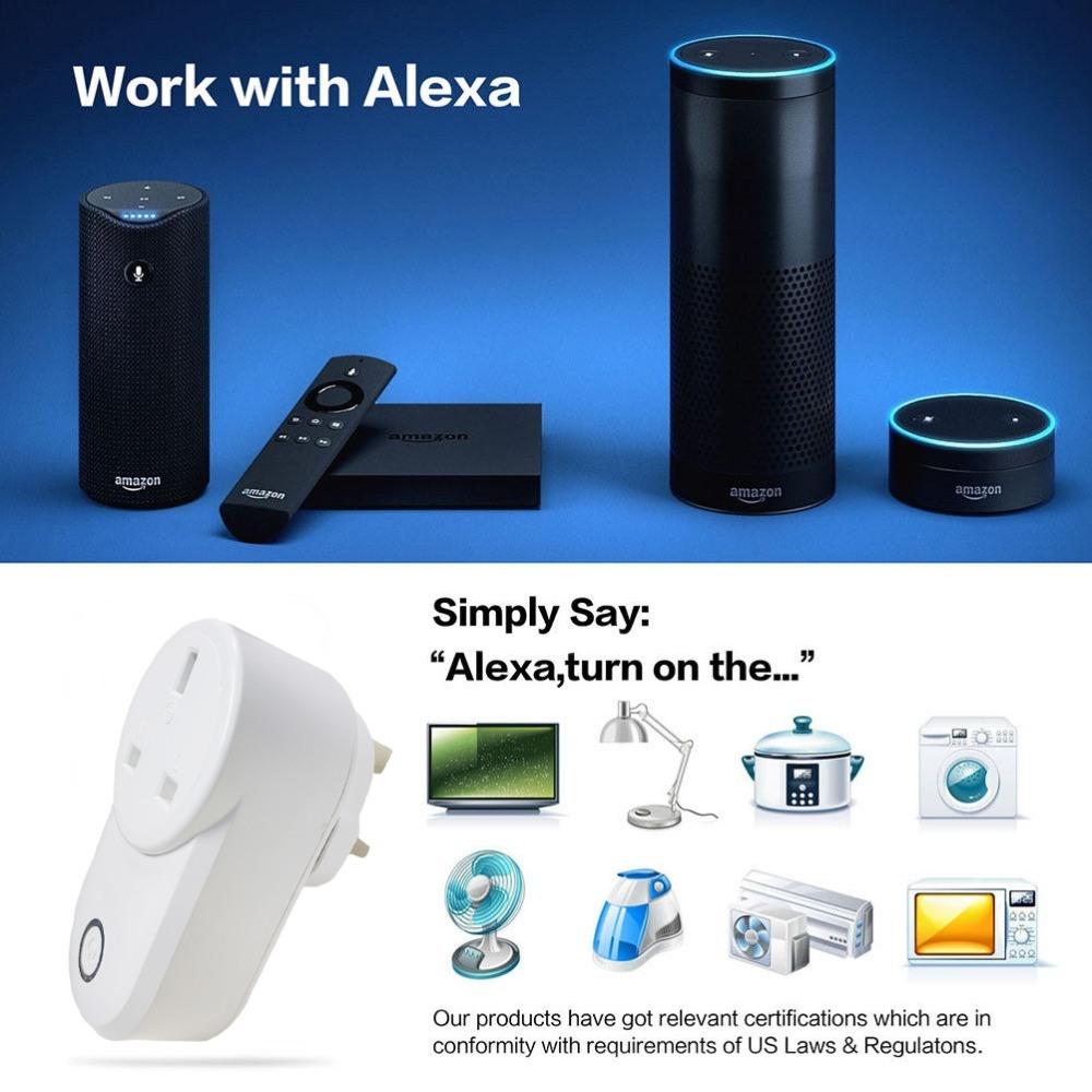 China Timethinker Ewelink Home WiFi Smart Socket UK Plug