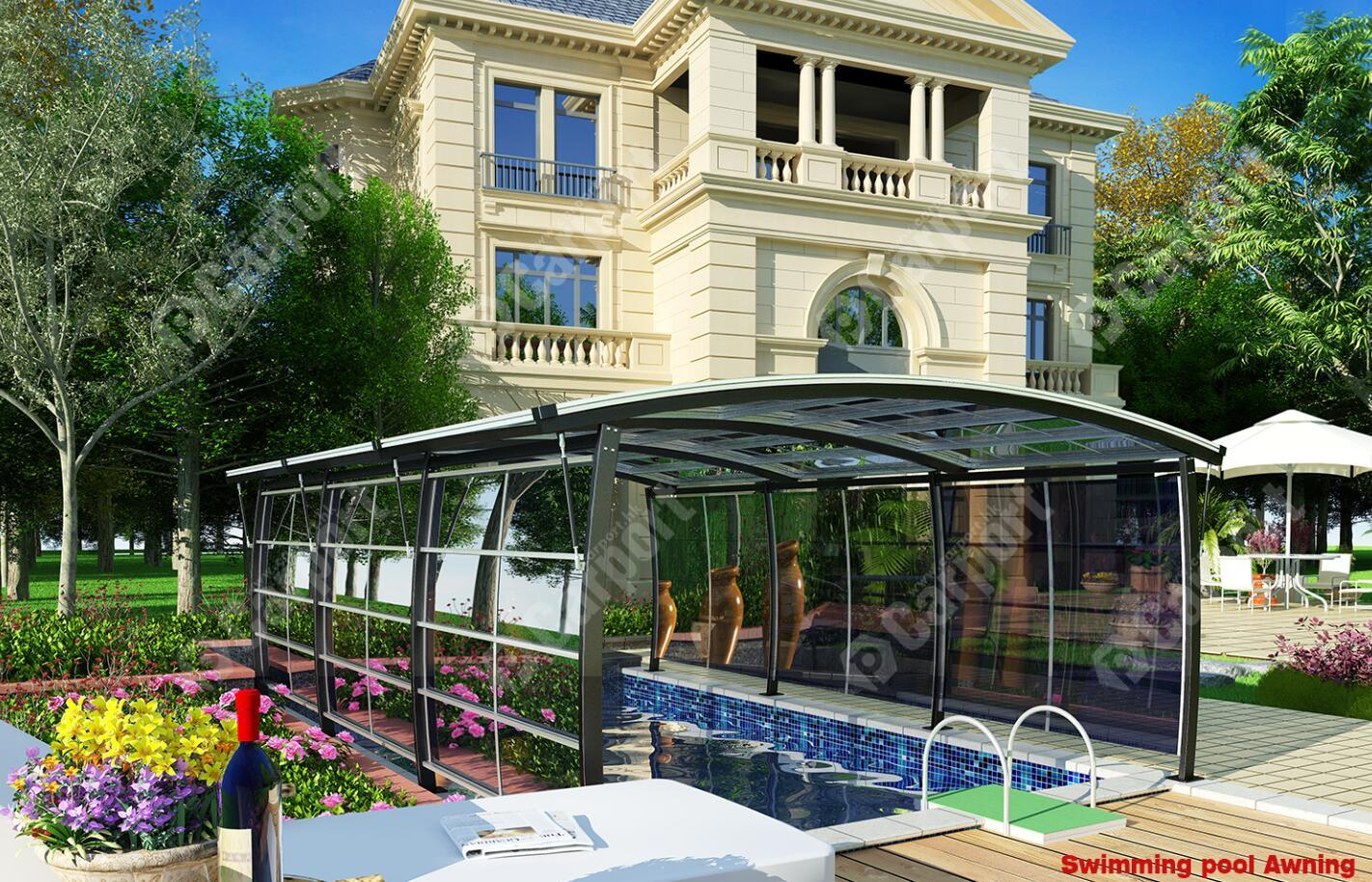 Modern Style Swimming Pool Awning - China Canopy, Awning ...